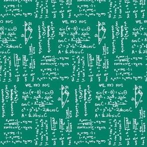 Trigonometry Chalkboard