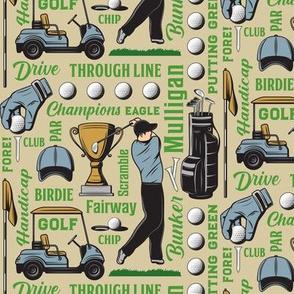 Golf Terms12-Tan