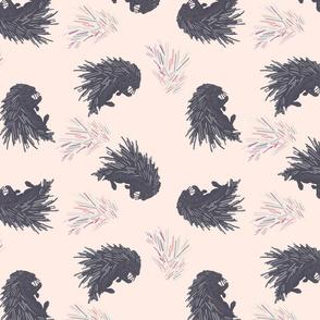 porcupine pink