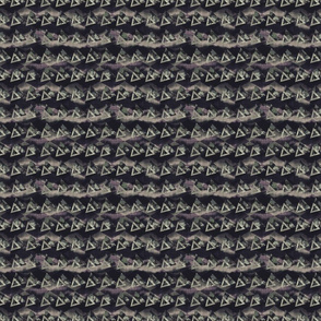 Seamless distressed glitch blur woven texture.