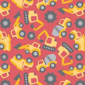 Cute Construction Vehicles