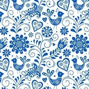 Scandinavian folk blue