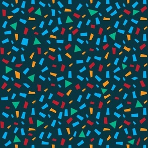 Geomertric seamless pattern with shapes