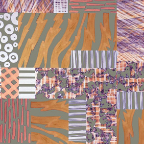 Jungle Patchwork Copper