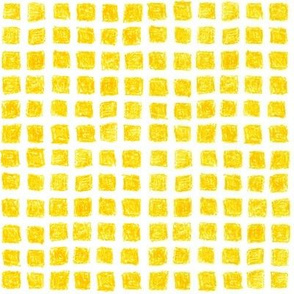 crayon squares in yellow