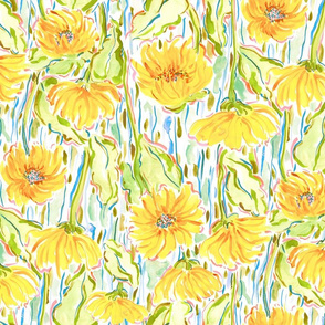 Midsummer_sunflowers_orange_large_scale
