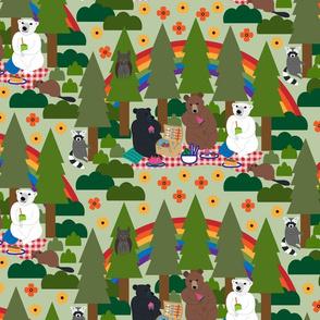 Teddybear picnic