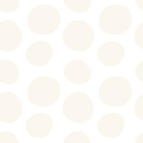 Beige Circle Polka Dots Baby