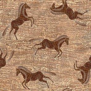 Wooden Ponies
