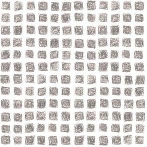 crayon square grid in grey