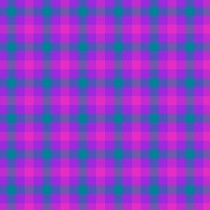 """double mad gingham, 1/4"""" check"""