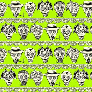 Los Muertos in Acid Green!
