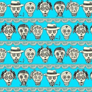 Los Muertos in Blue!