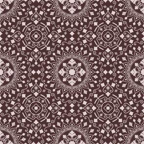 Mandala Geometric Dark