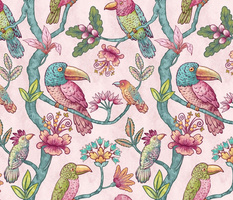 Large - Fantasy Birds