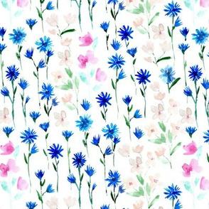 Bloom in Verona - watercolor flowers - blooming spring 302