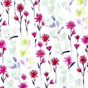 Bloom in Verona - watercolor flowers - blooming spring p302