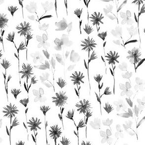 Noir Bloom in Verona - watercolor flowers - blooming spring 302