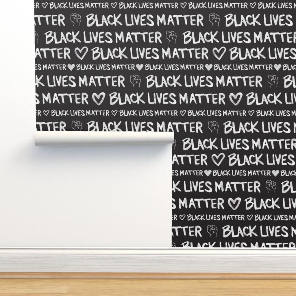 Isobar Durable Wallpaper featuring Black Lives Matter by winnie&peach
