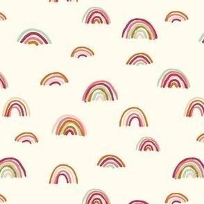 Skinny Earthy Rainbows Allover