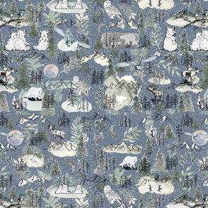 Artic Snow Animals