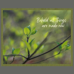 All things new Spring Dogwood