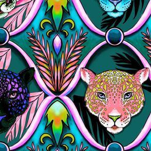 jaguar ogee after dark, LARGE scale
