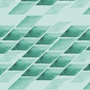Watercolour geometrics