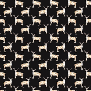 Deer Pattern Dark