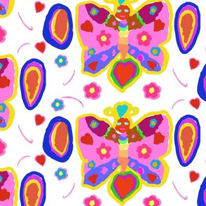 Rose's Fantasy Butterfly