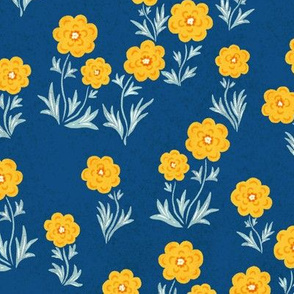 "Swedish Smorblooms (blue) 18"""