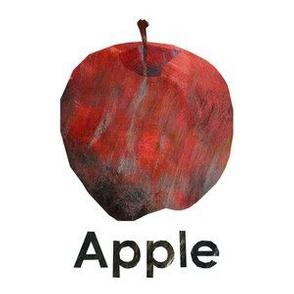 "Apple - red  - 6"" Panel"
