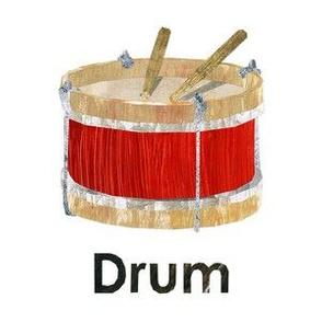 """Drum  - 6"""" Panel"""