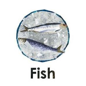 """Fish - 6"""" Panel"""
