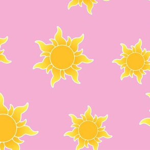 Princess Suns Plain Large