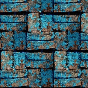 Follow The Urban Blue Brick Road