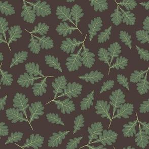 Oak Leaves - Green