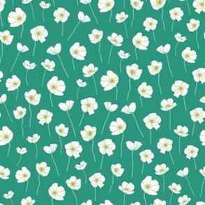 Anemone - mint green