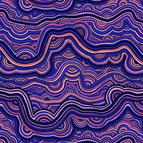 Zenful Malachite—Blue multi