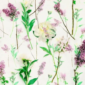 Lilac & Peony Menagerie