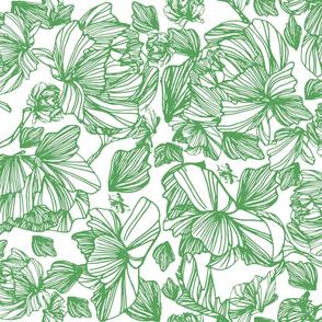 Green Fleurs