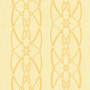 Textured trellis - lemon butter