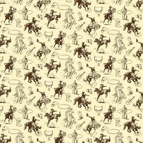 Cowboys Rodeo Western Horses