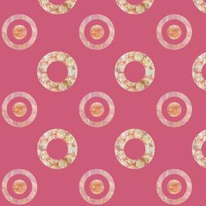 Dotty Rings Pink Large