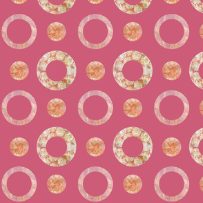 Dotty Rings and Dots Pink