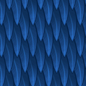 Feathers of Blue