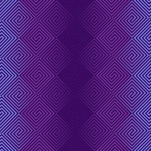 Purple Color Tangle
