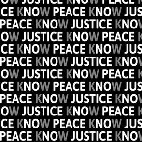 No Justice No Peace Small