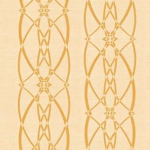 Textured trellis - caramel