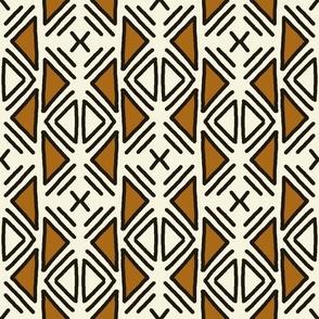 Ethnic Black & Brown Motif